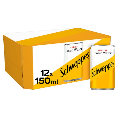 Schweppes Low Calorie Tonic Water 12x150ml