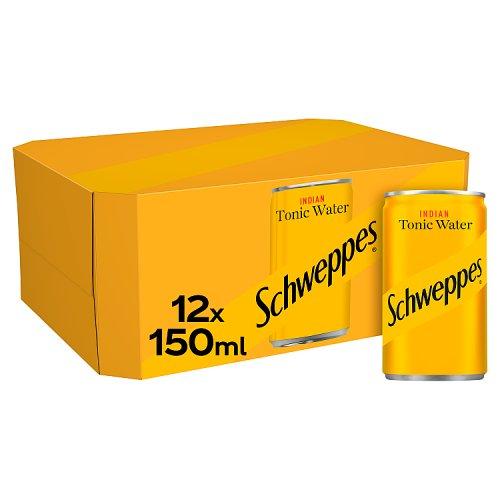 Schweppes Tonic Water 12x150ml