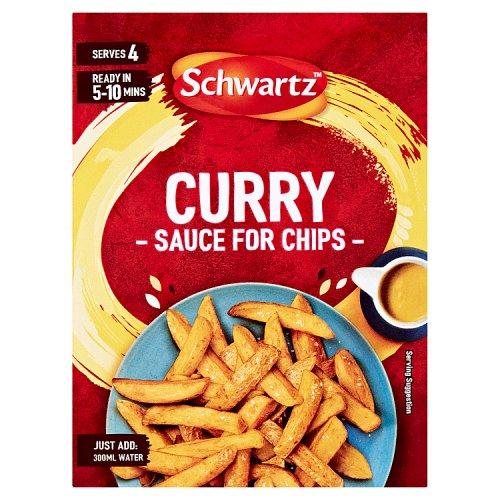 Schwartz Curry Sauce For Chips Sachet