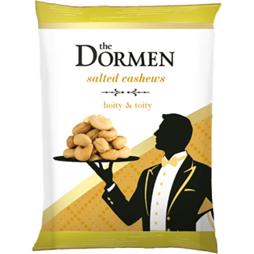 The Dormen Salted Cashews Snack Pack