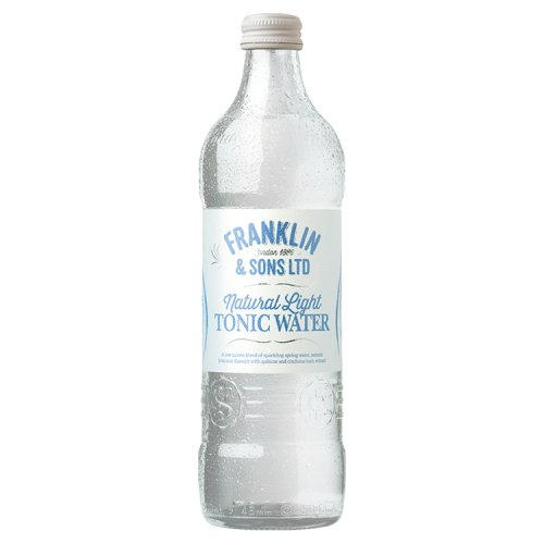 Franklin & Sons Natural Light Tonic Water 500ml