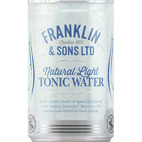Franklin & Sons Natural Light Tonic Water 150ml