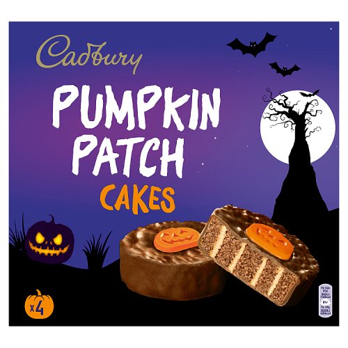 Cadbury Pumpkin Patch Cakes 4 Pack