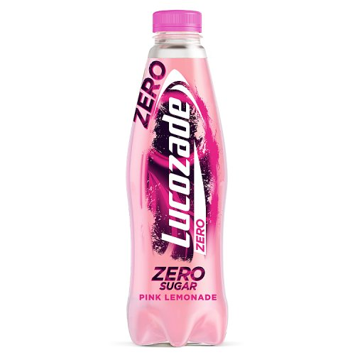 Lucozade Zero Pink Lemonade 900ml