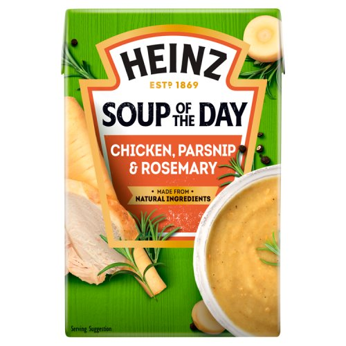 Heinz Soup Of The Day Chicken Parsnip & Rosemary Carton
