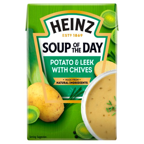 Heinz Soup Of The Day Potato Leek & Chives Carton