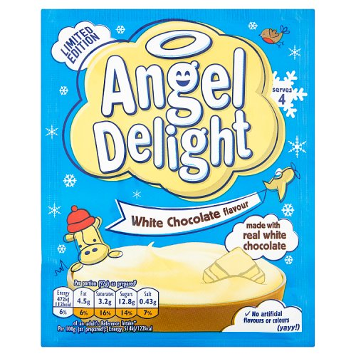 Angel Delight White Chocolate