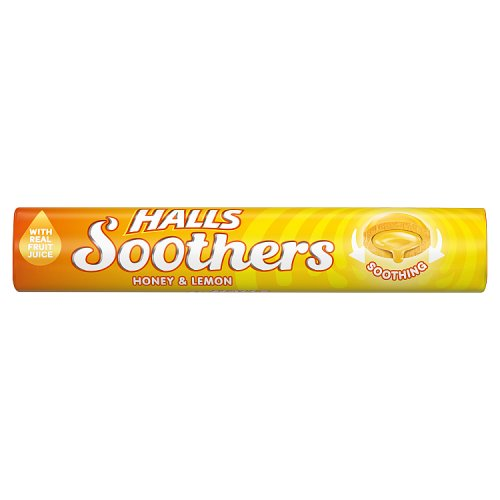 Medical Halls Soothers with Real Honey & Lemon Juice