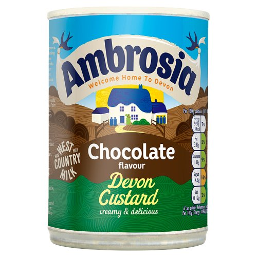 Ambrosia Chocolate Flavoured Devon Custard