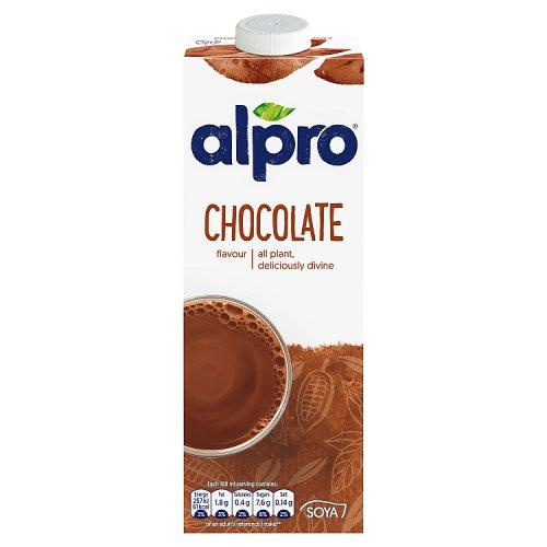 Alpro soya chocolate drink milk milkshakes for Alpro soya cuisine