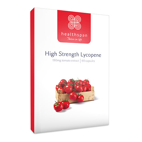 Healthspan High Strength Lycopene 60 Capsules