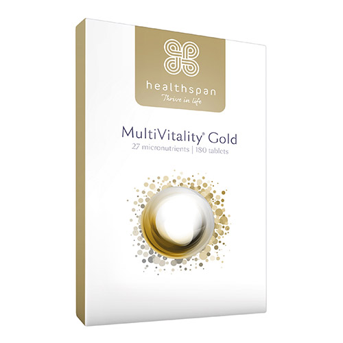 Healthspan MultiVitality Gold 180 Tablets