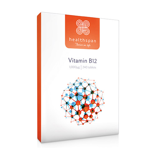 Healthspan Vitamin B12 240 Tablets