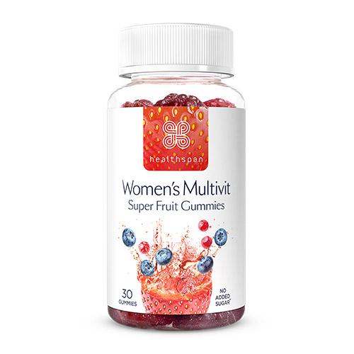 Healthspan 30 Women's Multivit Berry Gummies