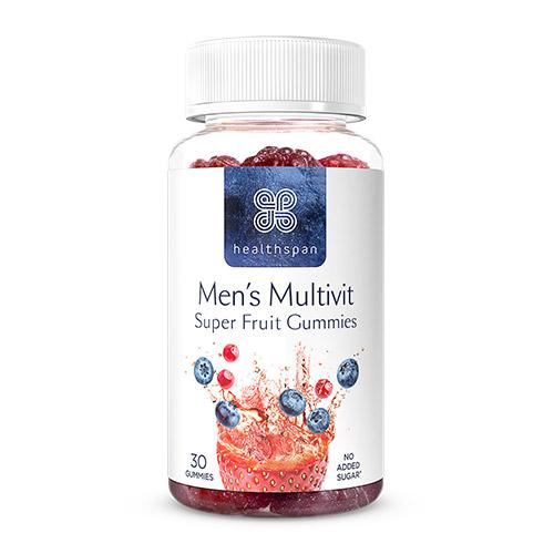Healthspan 30 Men's Multivit Berry Gummies