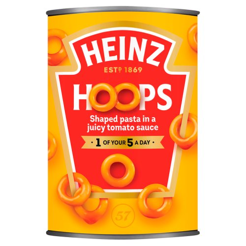 Heinz Spaghetti Hoops in Tomato Sauce Large Size