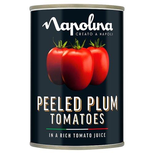 Napolina Plum Tomatoes Tinned Dried Veg