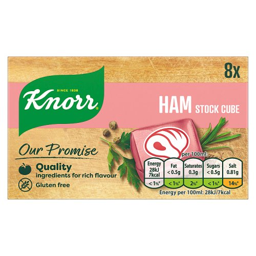 Knorr Ham Stock Cubes 8 Pack