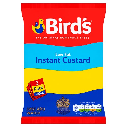 Birds Instant Custard Low Fat Triple Pack