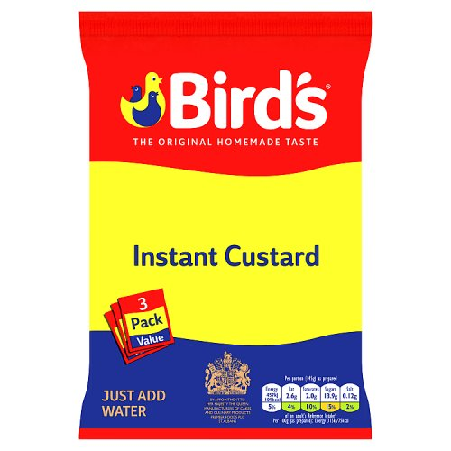 Birds Instant Custard Triple Pack