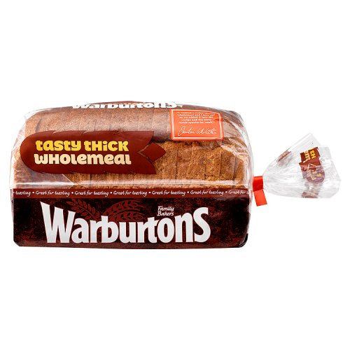 Warburtons Wholemeal With Rye Bread