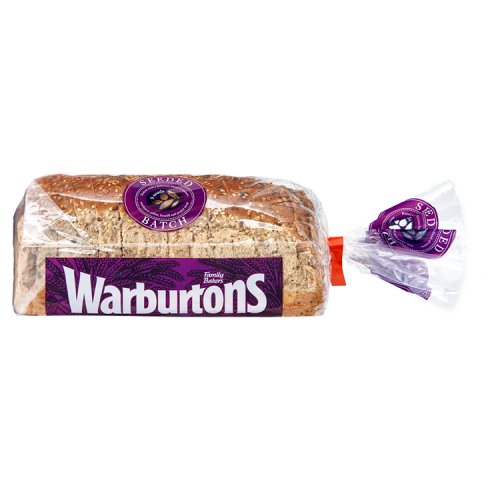Warburtons Seeded Batch Bread Small