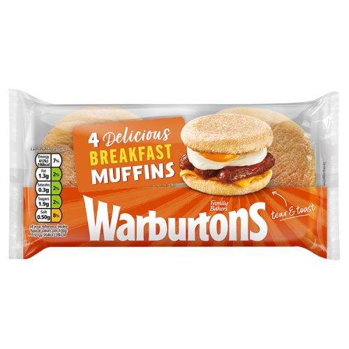 Warburtons Crumpets 6 Pack - Breakfast