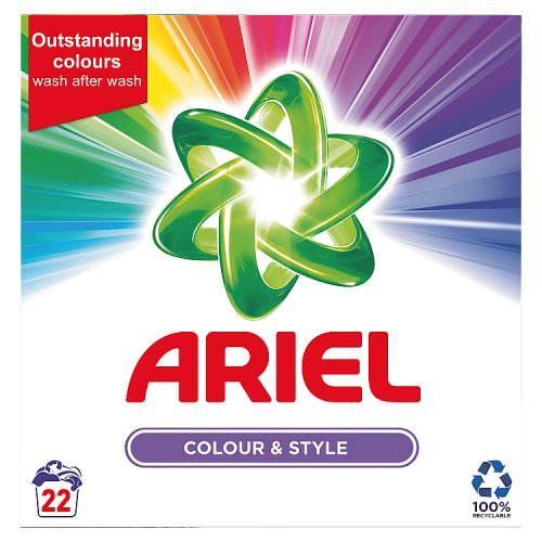 Image of Ariel Colour Powder 22 washes