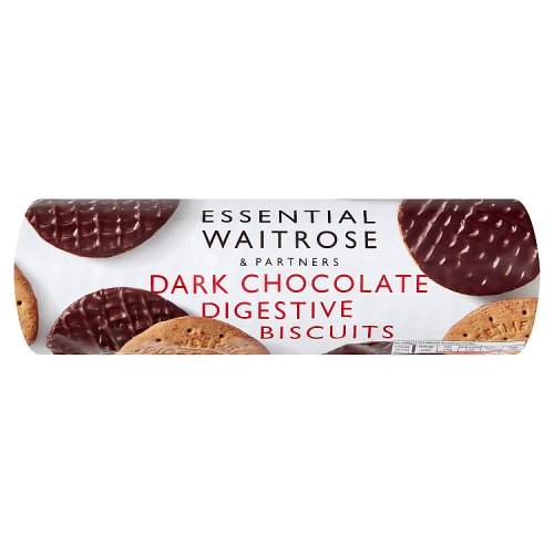 essential Waitrose Biscuits Plain Chocolate Digestives