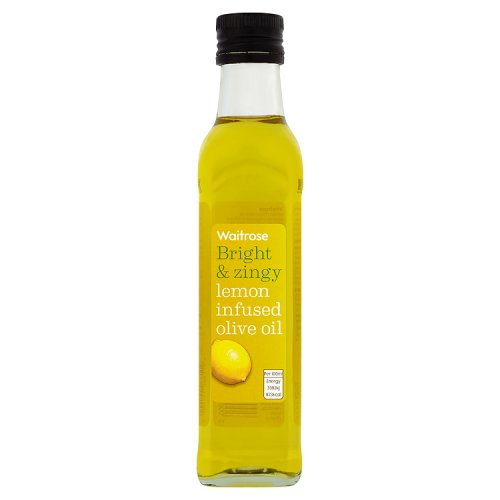 Waitrose Lemon Infused Olive Oil