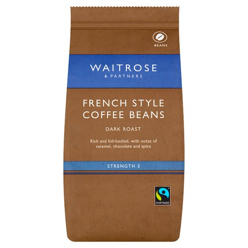 Waitrose Coffee Beans French Blend