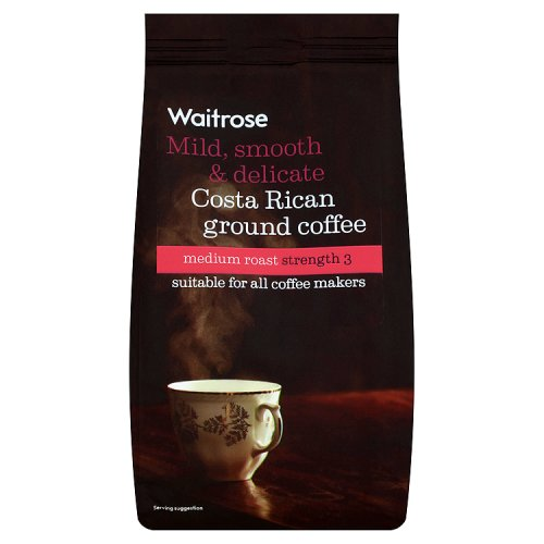 Waitrose Ground Coffee Medium Costa Rican