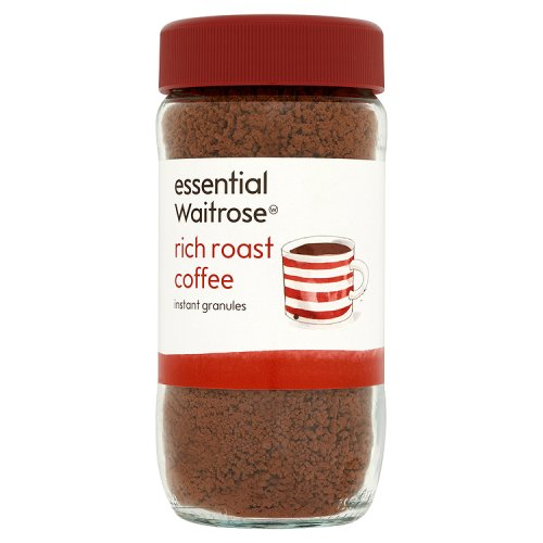 essential waitrose rich roast coffee. Black Bedroom Furniture Sets. Home Design Ideas