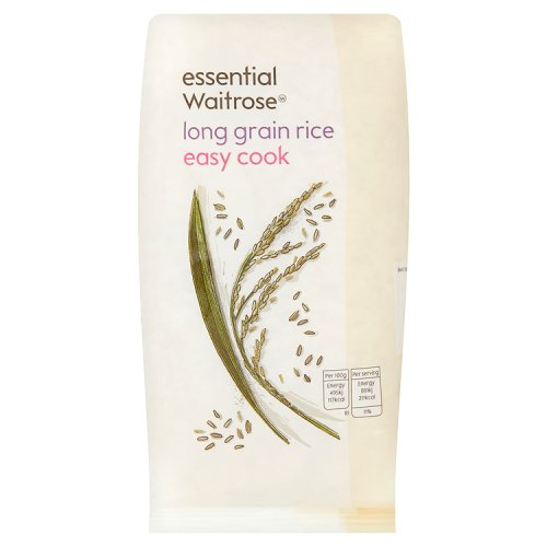 essential Waitrose Long Grain Rice Easy Cook