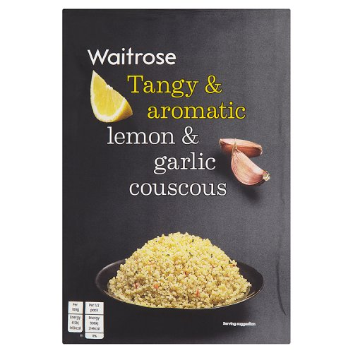 Waitrose Cous Cous Lemon and Garlic