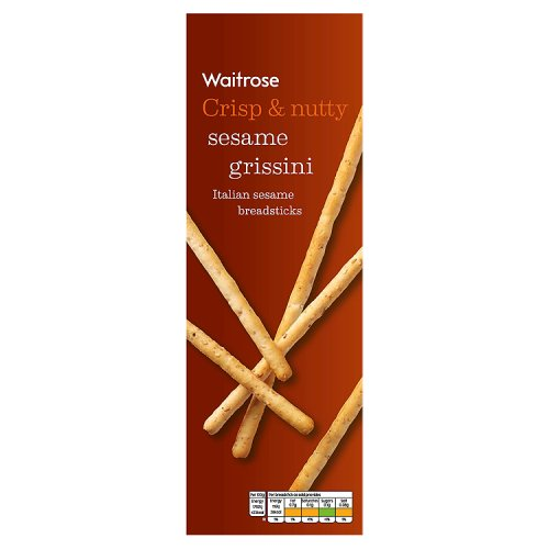 Waitrose Grissini Sesame Seed Breadsticks