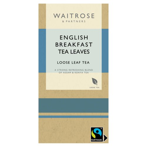 Waitrose Fairtrade English Breakfast Loose Leaf Tea