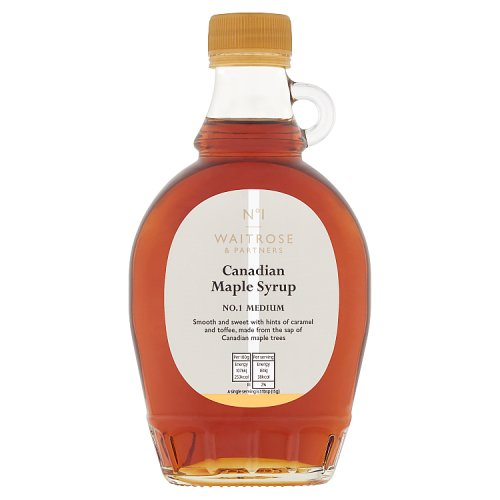 Waitrose 1 Canadian Maple Syrup No 1 Medium