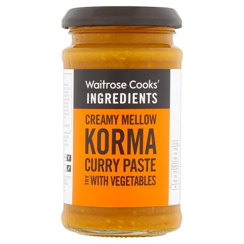 Waitrose cooks ingredients korma curry paste negle Image collections