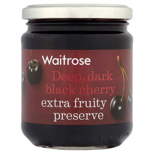 Waitrose Black Cherry Preserve