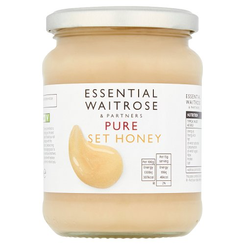 essential Waitrose Pure Set Honey