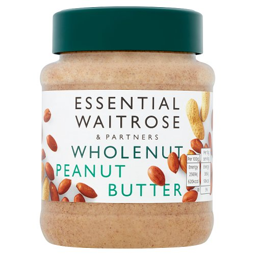 essential Waitrose Peanut Butter Wholenut