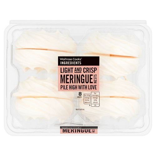Waitrose Meringue Nests 8s