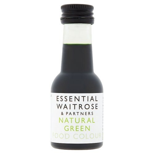 essential Waitrose Natural Green Food Colour