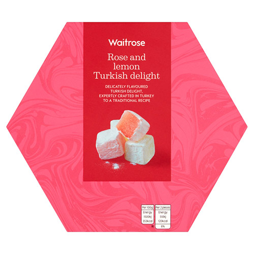 Waitrose Rose & Lemon Turkish Delight