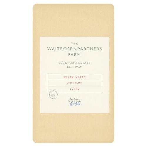Waitrose Leckford Plain White Flour
