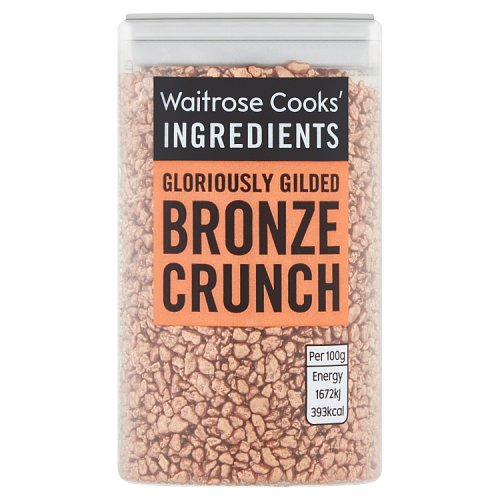 Waitrose Cooks Ingredients Bronze Crunch Pieces