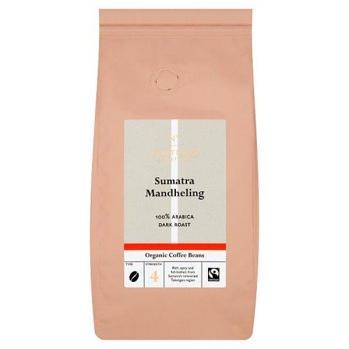 Waitrose Organic Coffee Beans Sumatra Mandheling