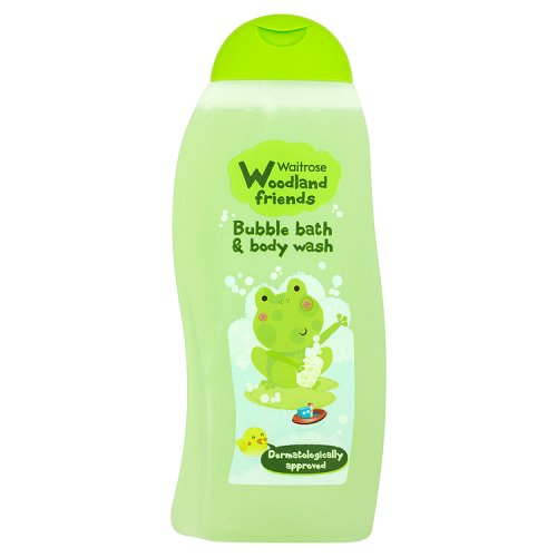 Waitrose Woodland Friends Bubble Bath / Bodywash