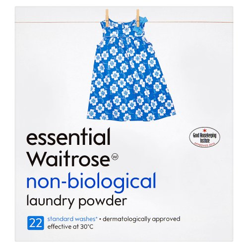 essential Waitrose Non Bio Laundry Powder 22 Washes